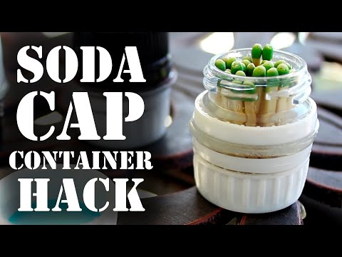 How to Make a Soda Cap Container!