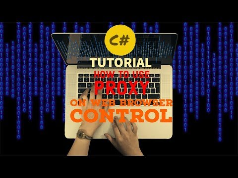 How we can use Proxy on Web Browser control in C# !?