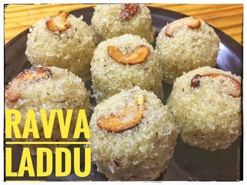 QUICK AND EASY RAVA LADDU RECIPE IN TELUGU / 09KITCHEN