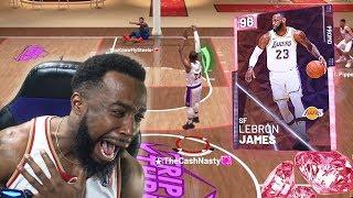 PINK DIAMOND LEBRON JAMES DISGRACE! NBA 2K19 MyTeam