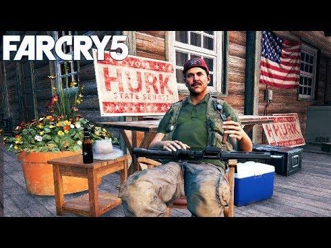 Far Cry 5 Part 18 - The Prodigal Son: Meeting Hurk Drubman Junior and Senior