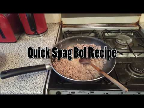Simple Spag Bol Sauce