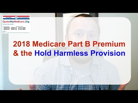 2018 Medicare Part B Premium & the Hold Harmless Provision