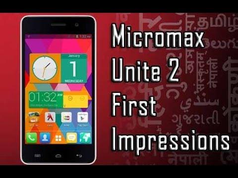 Micromax Unite 2 First Impressions