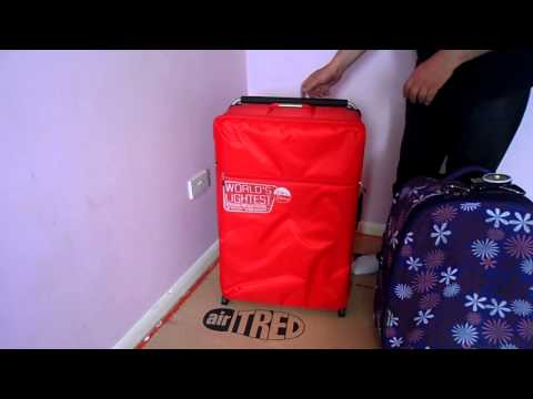 HOW TO TAKE MORE ON HOLIDAY FLIGHTS HAVE A LOOK AT TI WORLDS LIGHTEST SUITCASE 2 kg LUGGAGE
