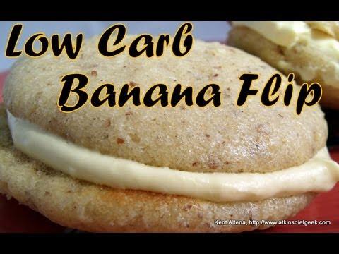 Atkins Diet Recipes: Low Carb Banana Flip (OWL)