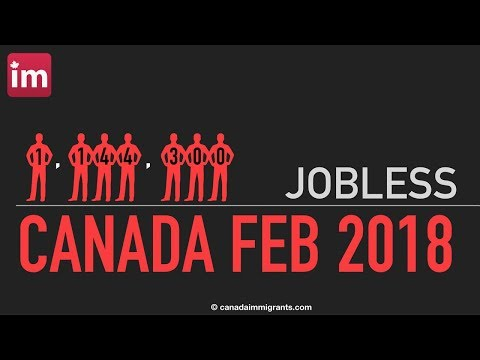 Unemployment in Canada (February 2018)   Canadian Labour Market