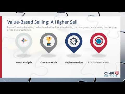 Navigating Value Based Selling to Improve Market Share