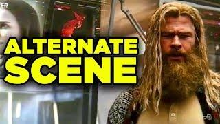 Avengers Endgame Fat Thor Deleted Scene Revealed!
