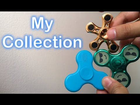 Fidget Spinner With Bluetooth Speaker and LED Lights || Review