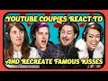 YouTube Couples React Recreate Kiss Scenes The Office Spider Man More