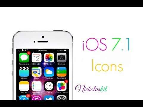 iOS 7.1 Icons For iOS 7.x iDevices