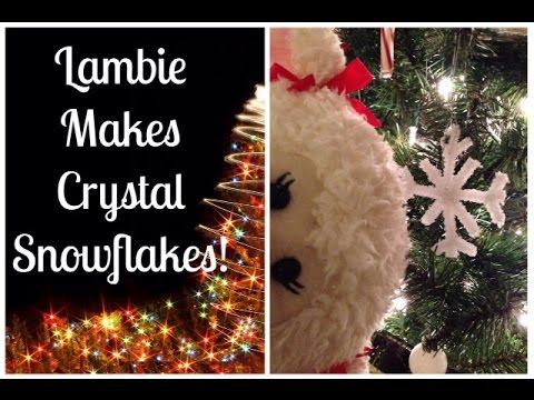 # 414: Lambie Makes Crystal Snowflakes - LambCam
