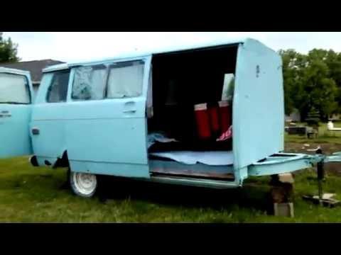 $200 Half Van Half Camper Pull Behind