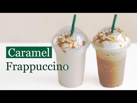 How to Make Starbucks Caramel Frappuccino, Copycat Recipe 스타벅스 카라멜 프라푸치노 만들기 - 한글자막
