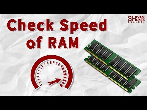 How To Check RAM Speed On Windows 7, Windows 8, Windows 10 PC