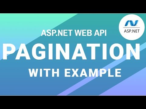 Pagination in Web API for beginners with example