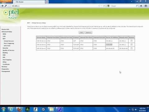 Ptcl router not forwarding port PLZ HELP