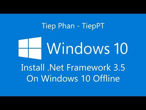 Download and install offline Microsoft  .NET Framework v3.5 for Windows 10  32 Bit or 64Bit