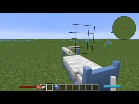 Minecraft: Building Tutorial | How to Build a Baby Crib!