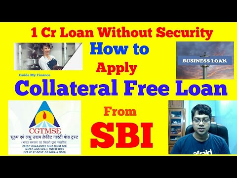 How to Get 1 Crore Collateral Free Loan From SBI | Security Free Loan From SBI