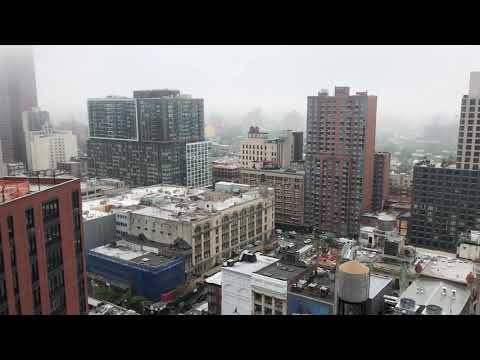 view from Kimoto Rooftop, Brooklyn, New York (5-31-18)