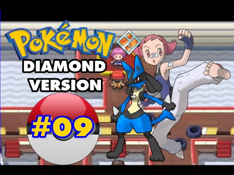 Pokemon Diamond - Part 9 - Veilstone City Gym Leader Maylene