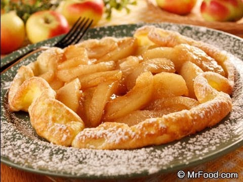 How to Make Dutch Apple Pancakes