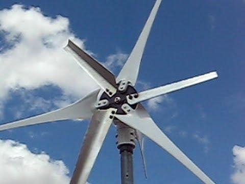 Wind Turbine Low Wind Speed Start