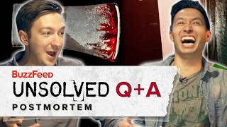 BuzzFeed Unsolved - True Crime - Q+A