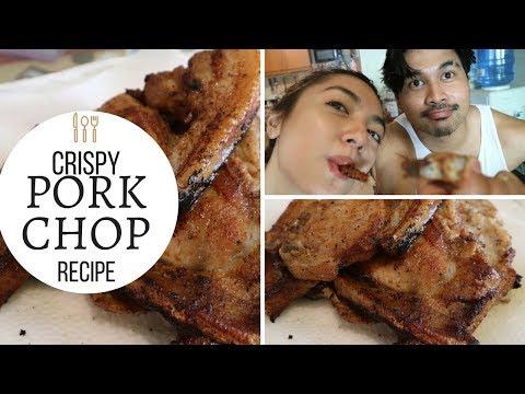 Crispy Pork Chop Recipe