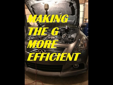 Infiniti G37 - How To Replace Spark Plugs And Clean Throttle Bodies And MAF Sensors