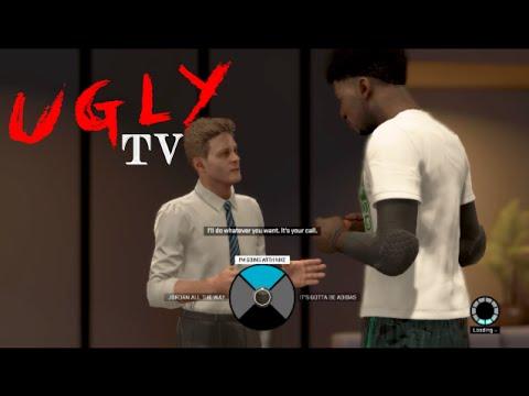 UglyTV- NBA 2K15 - MYPLAYER Jordan Nike Adidas Sneaker Contract PS4 X Box One