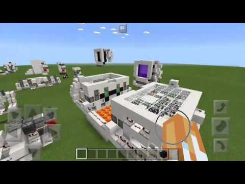 MCPE Redstone Drawbridge Showcase and Channel Update
