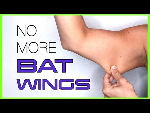 GET RID of BAT WINGS, FLABBY TRICEPS, & LOOSE ARM SKIN FAST | Best 10 Minute Arm Workout
