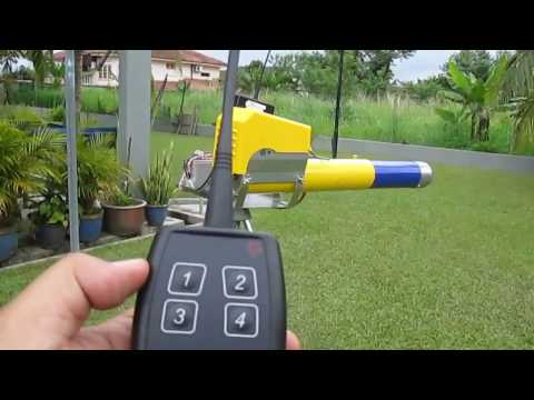 How to get rid of birds, using Electronic Propane Cannon Zon EL08