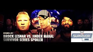 John Cena to interfere in Survivor Series Face Jinder Mahal at WrestleMania 34 wwe highlights news