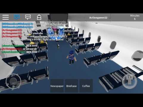 ROBLOX MOBILE:Airplane simulator part 2
