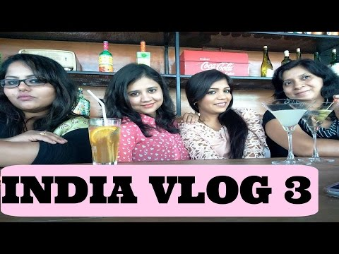 India Bangalore Vlog | Shoppping In bangalore & Bak Bak Bar Girls Day Out |SuperPrincessjo