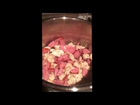 Instant Pot Chicken/Sausage Jambalaya 10 mins instead of 8!