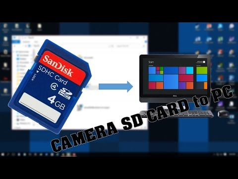 How To Get Videos From Your Camera's SD To Your Computer