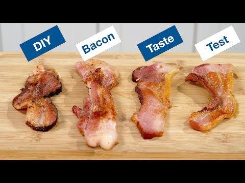 DIY Bacon / Home Made Bacon Taste Test || Le Gourmet TV Recipes