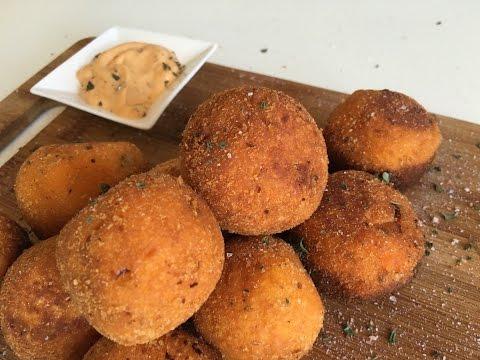 #Lazycook  | sweet potato cheese balls