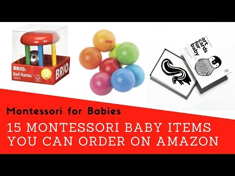 15 Montessori-Friendly Baby Essentials You can Order on Amazon (Montessori for Babies #13)
