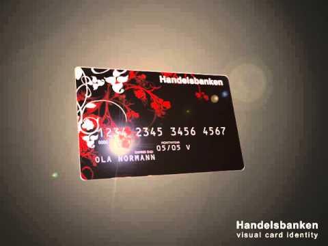 Handelsbanken Credit Card designs