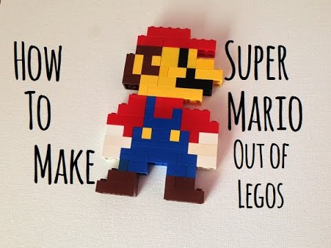 How to make a retro Super Mario out of Legos (Cool Lego builds)