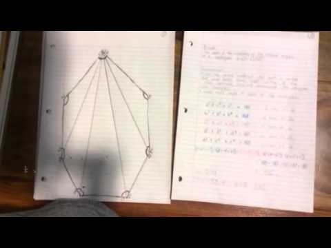 A Proof for Proving the measures of the interior angles of an N-gon