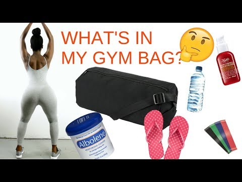 What's in My Gym Bag? | How to get the most out of your Workout?