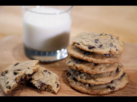Chocolate Chip Cookies: Delicately Crisp on the Outside, Slightly Chewy on the Inside