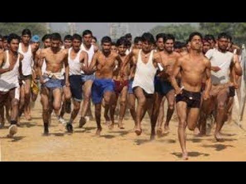 800 मीटर दौड़ Army Dec. 2017 Meerut